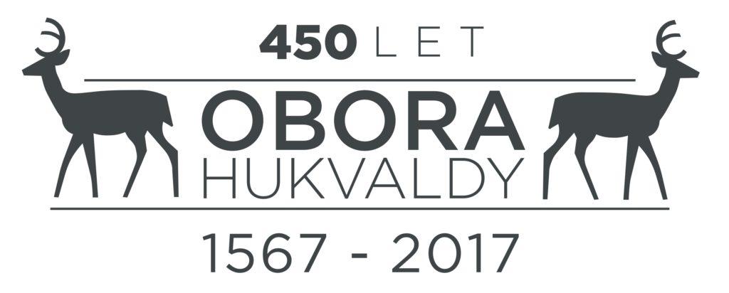 Logo 450let Hukvaldy - letopocet